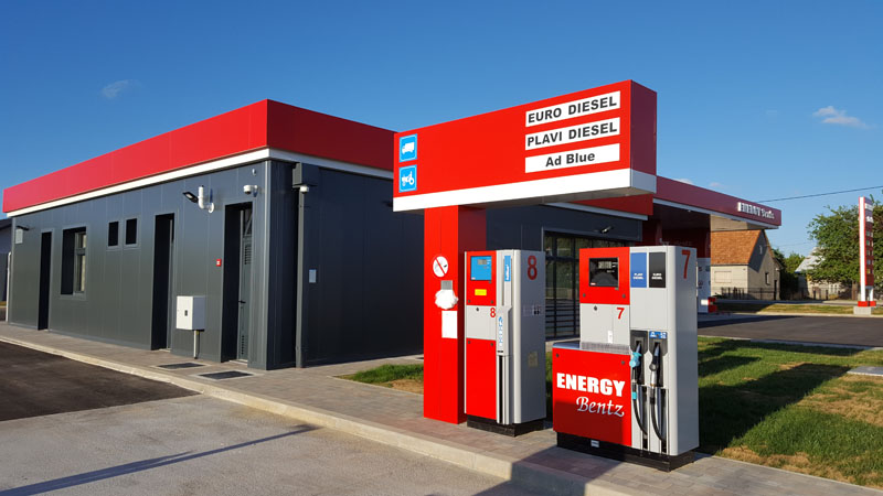 Benzinska postaja Gospić
